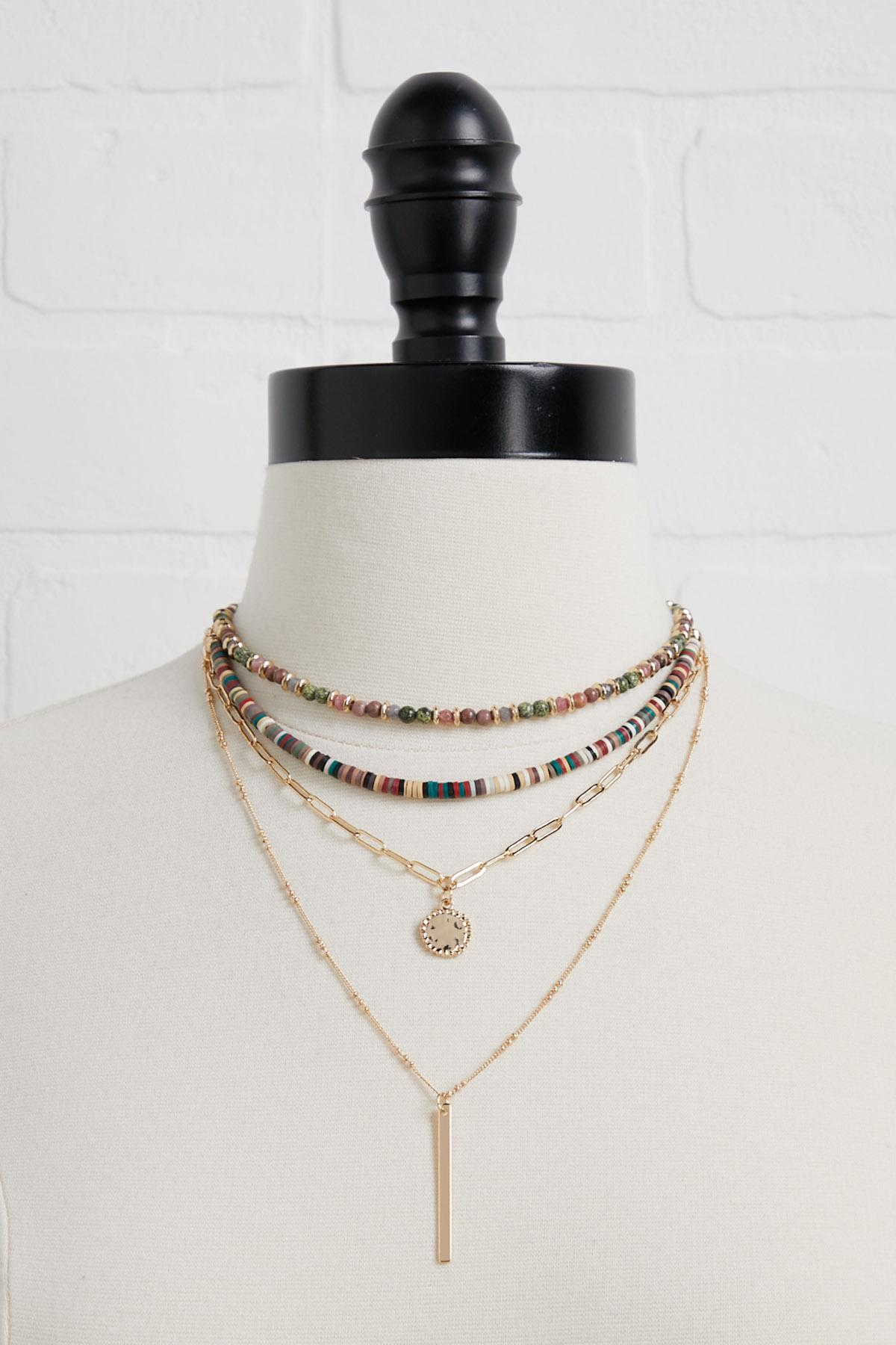 Colorful Layered Necklace