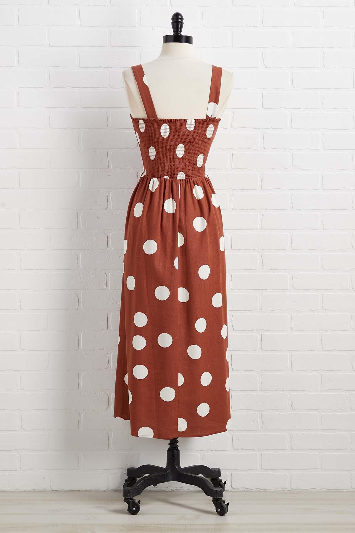 Give It A Second Dot Dress