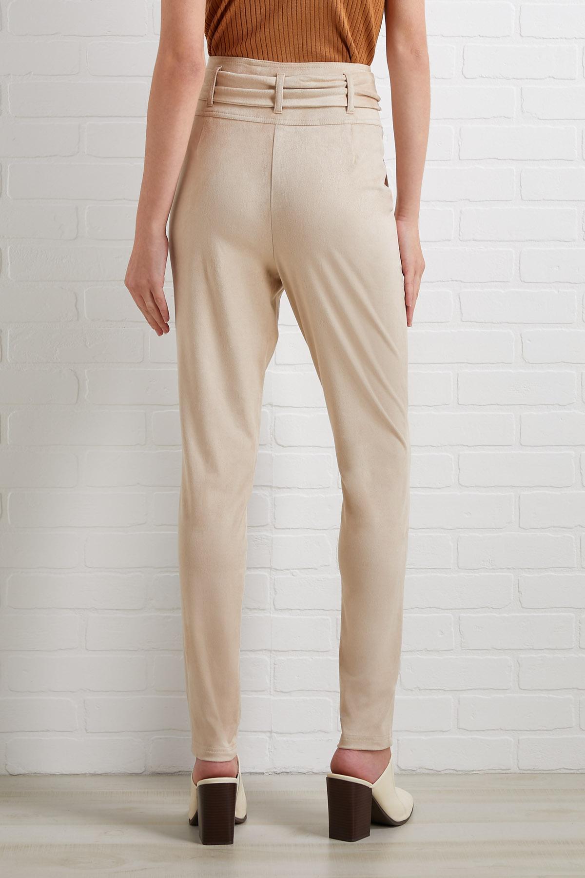 Living On A Cream Pants