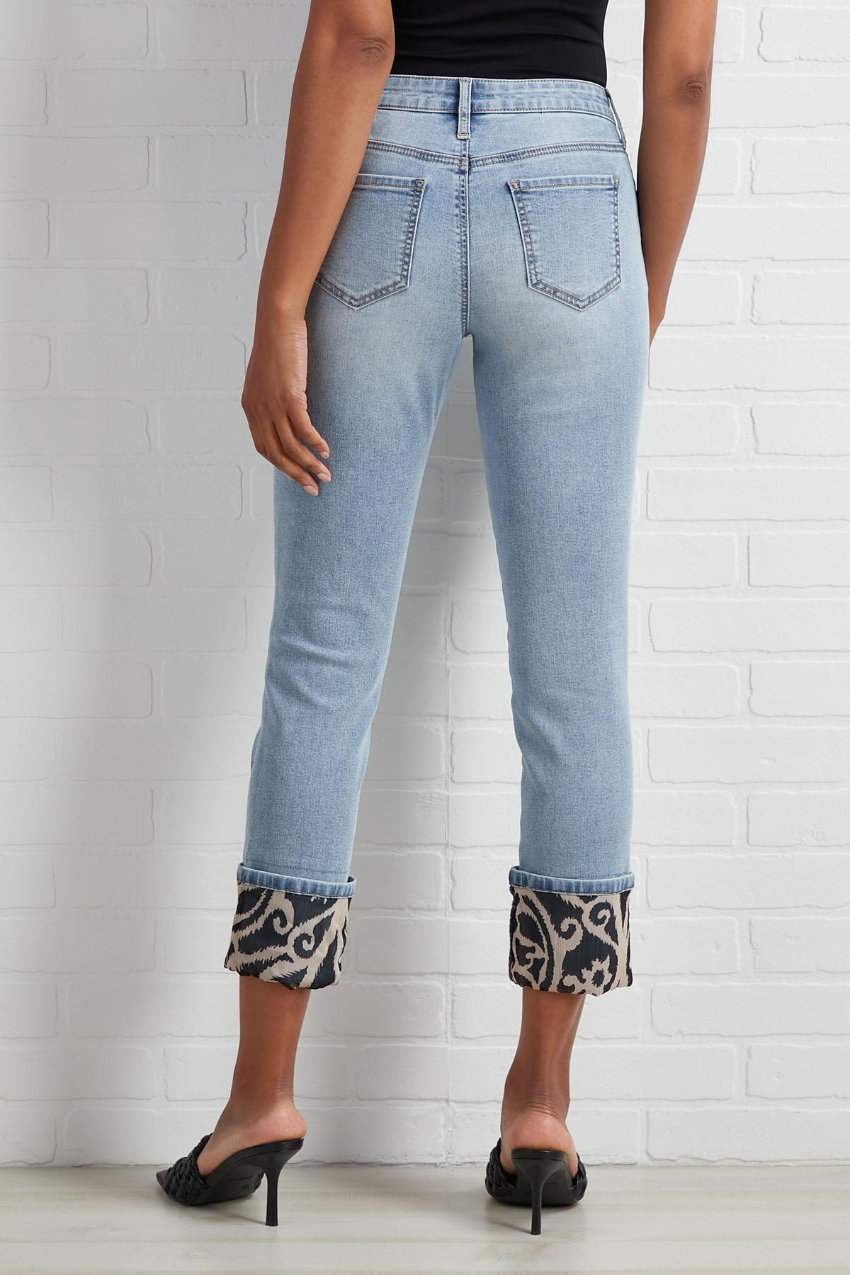 Dropping Prints Jeans