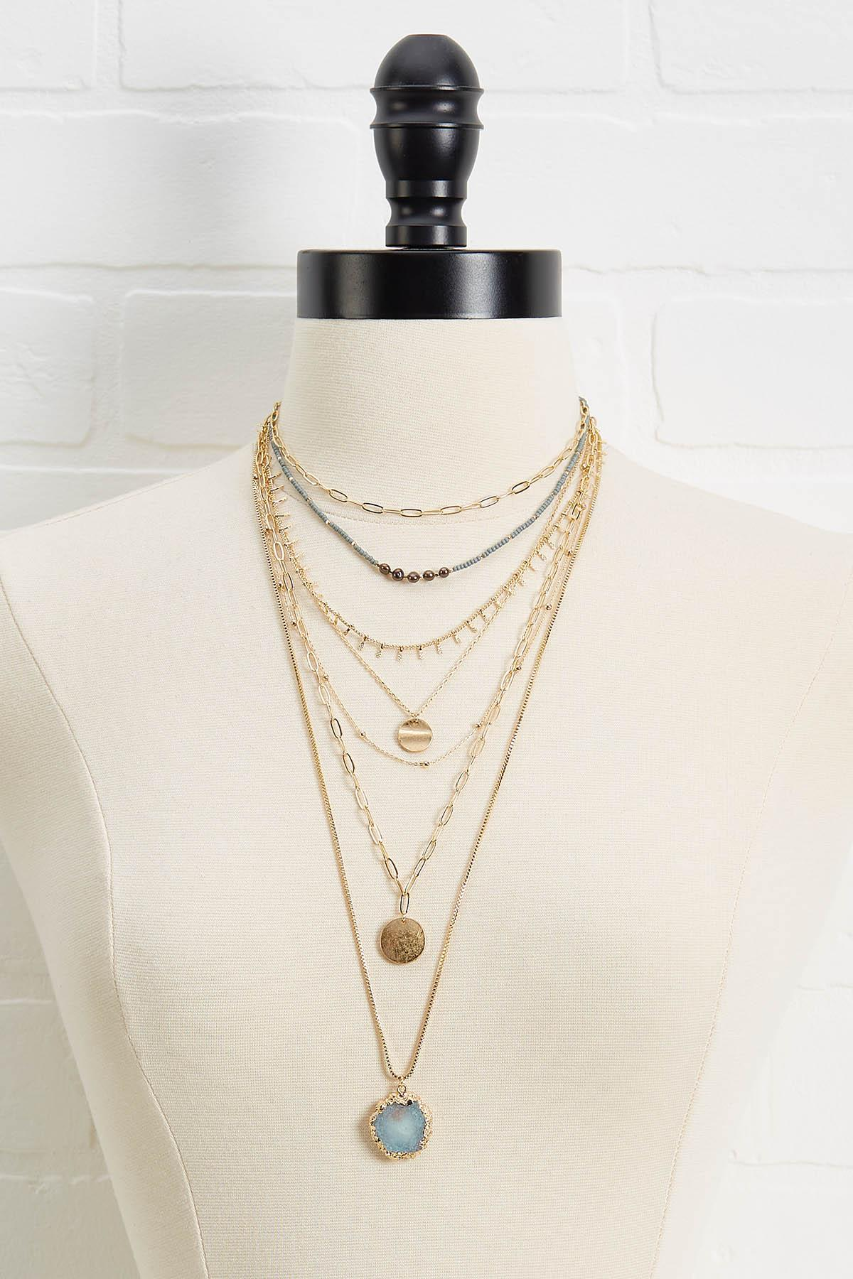 Delicate Agate Necklace