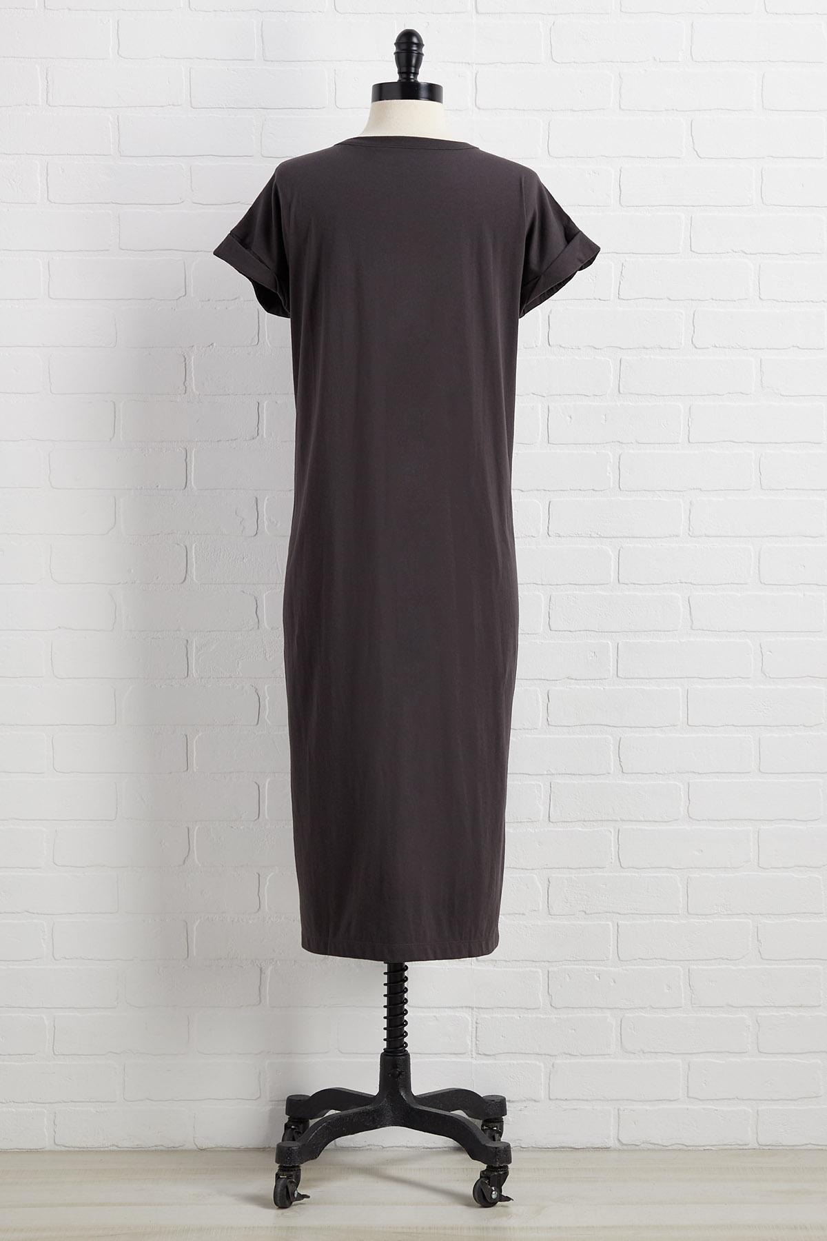 Def Leppard Graphic Dress