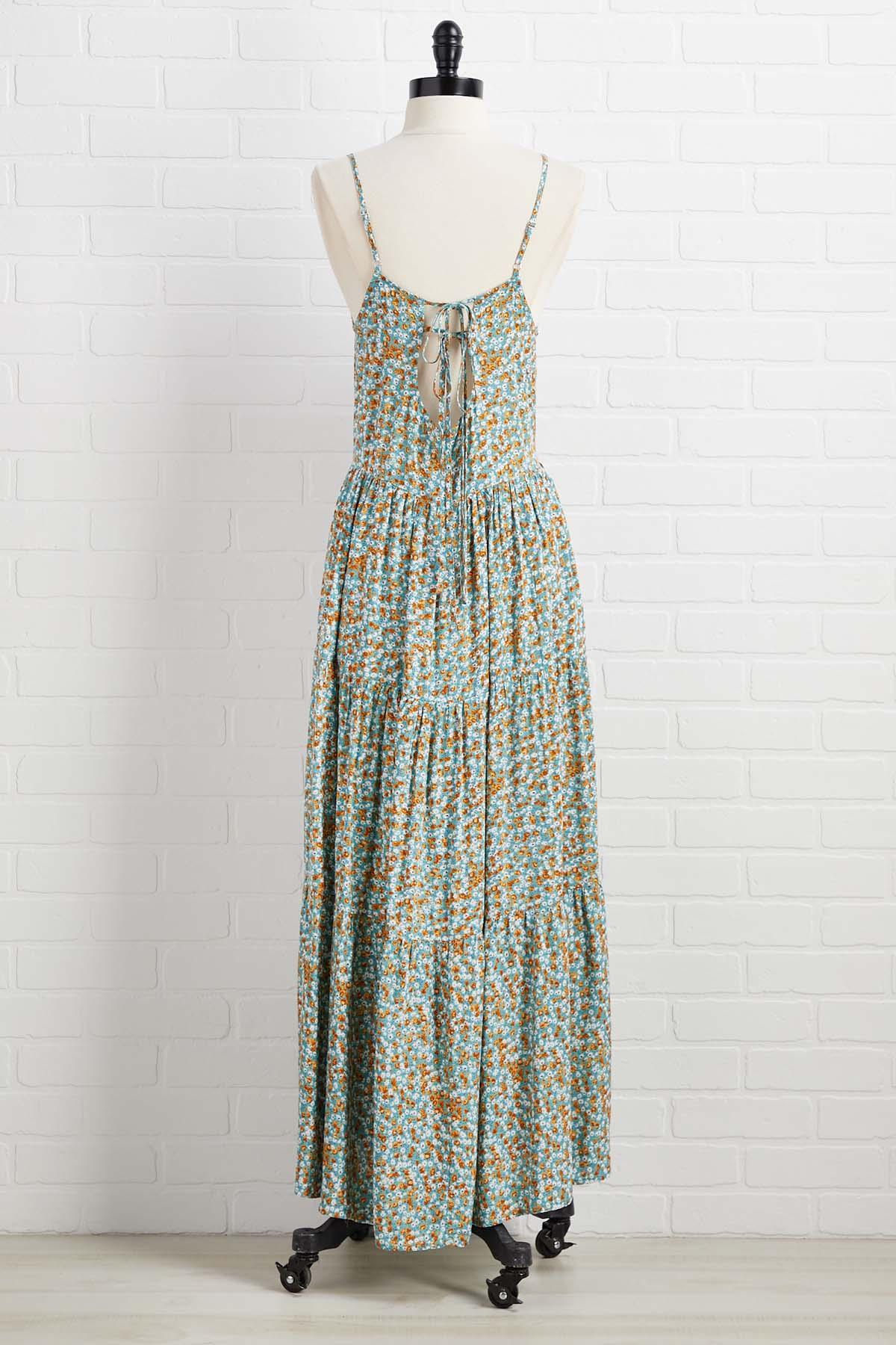 Flower Market Dress