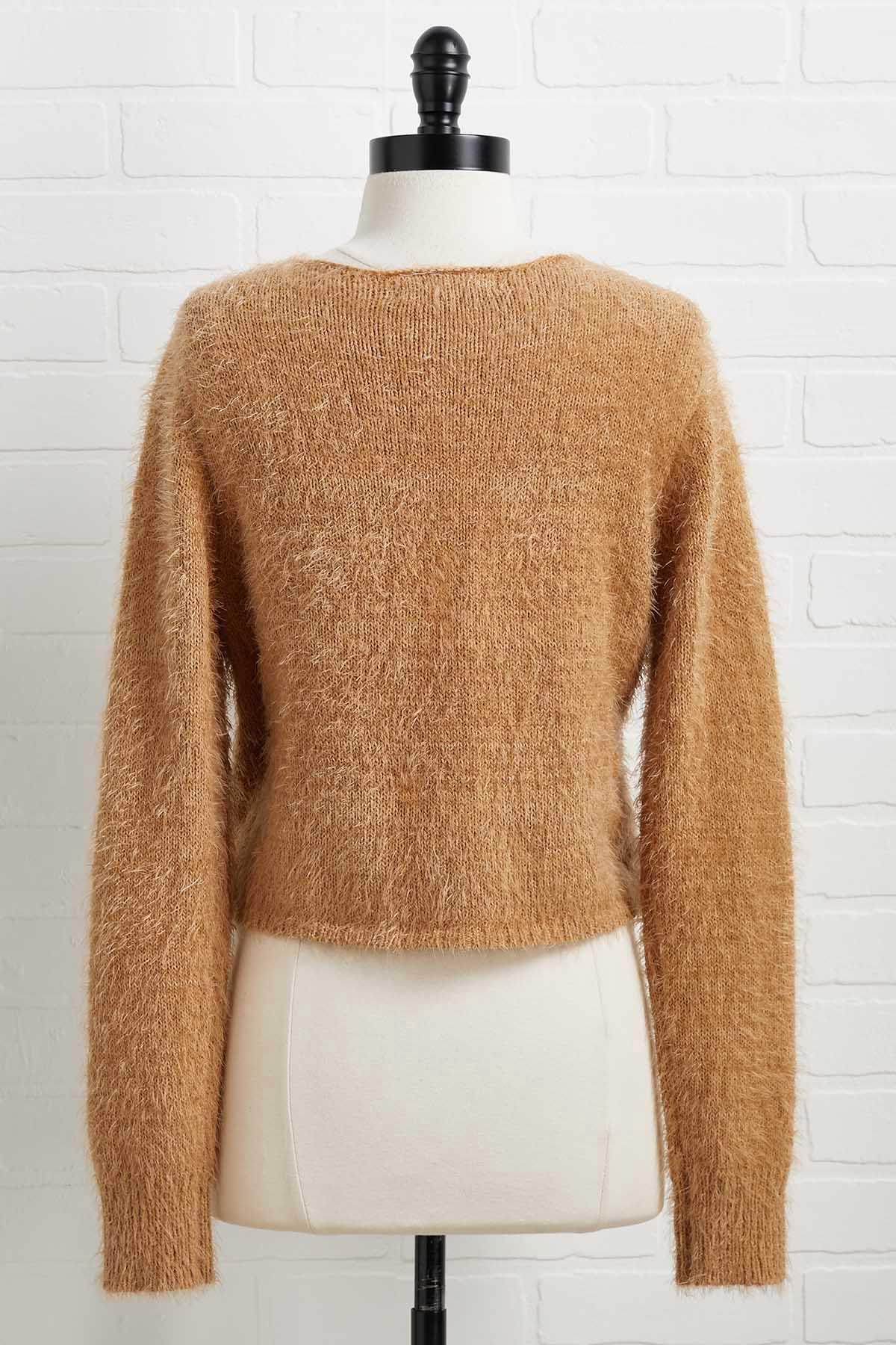 Fuzzy Feelings Sweater