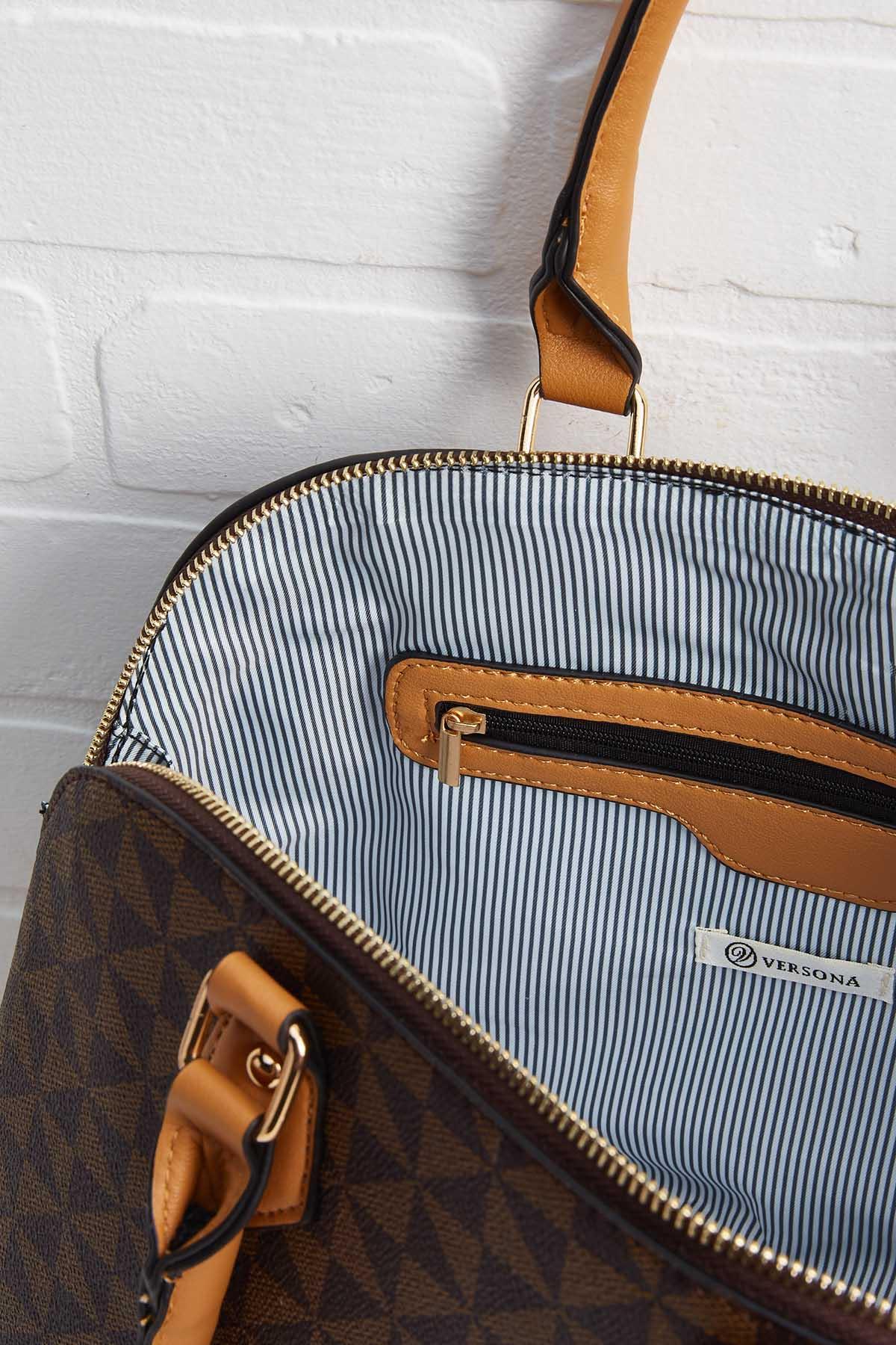 2 In 1 Dome Satchel Bag