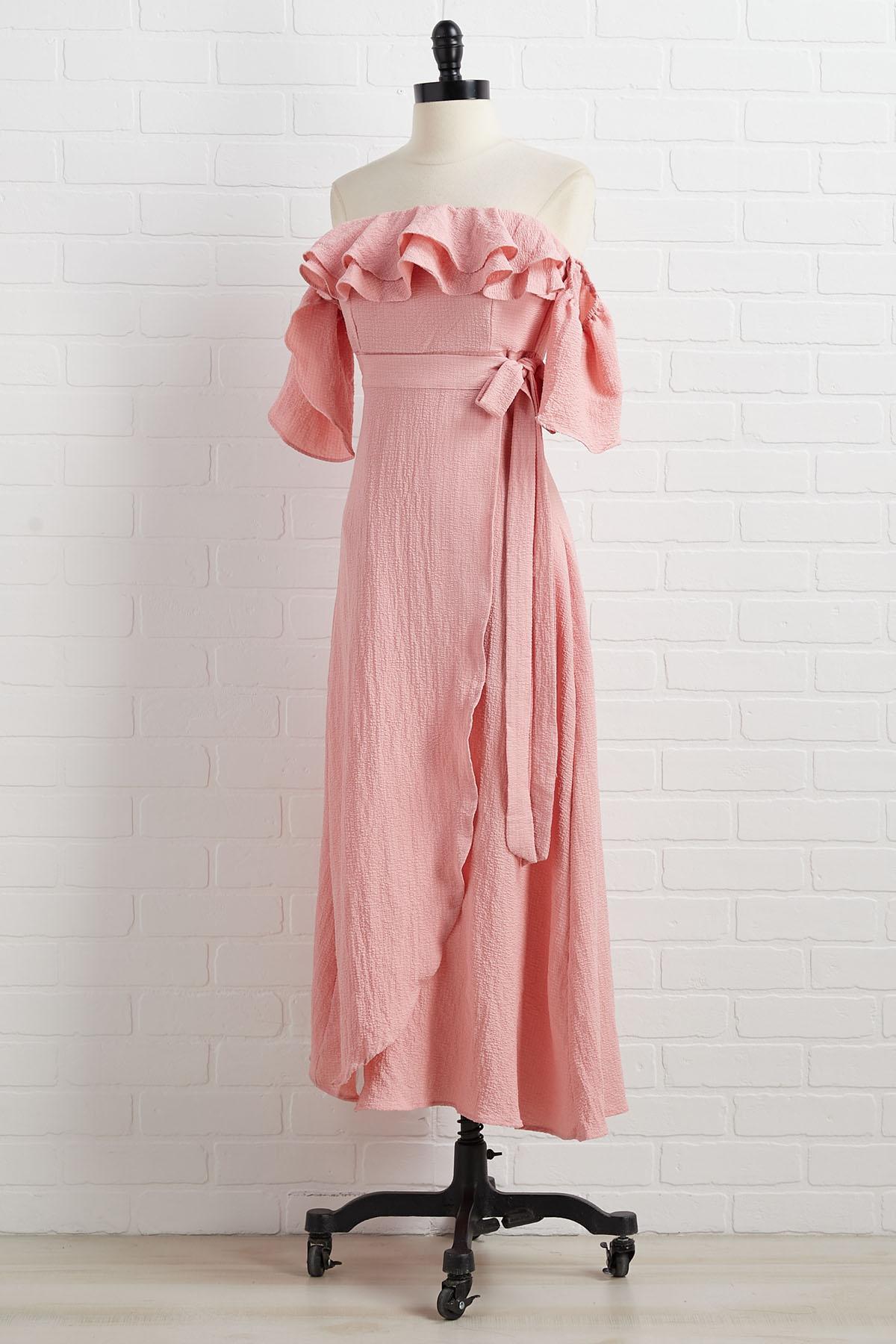 Made Me Blush Dress