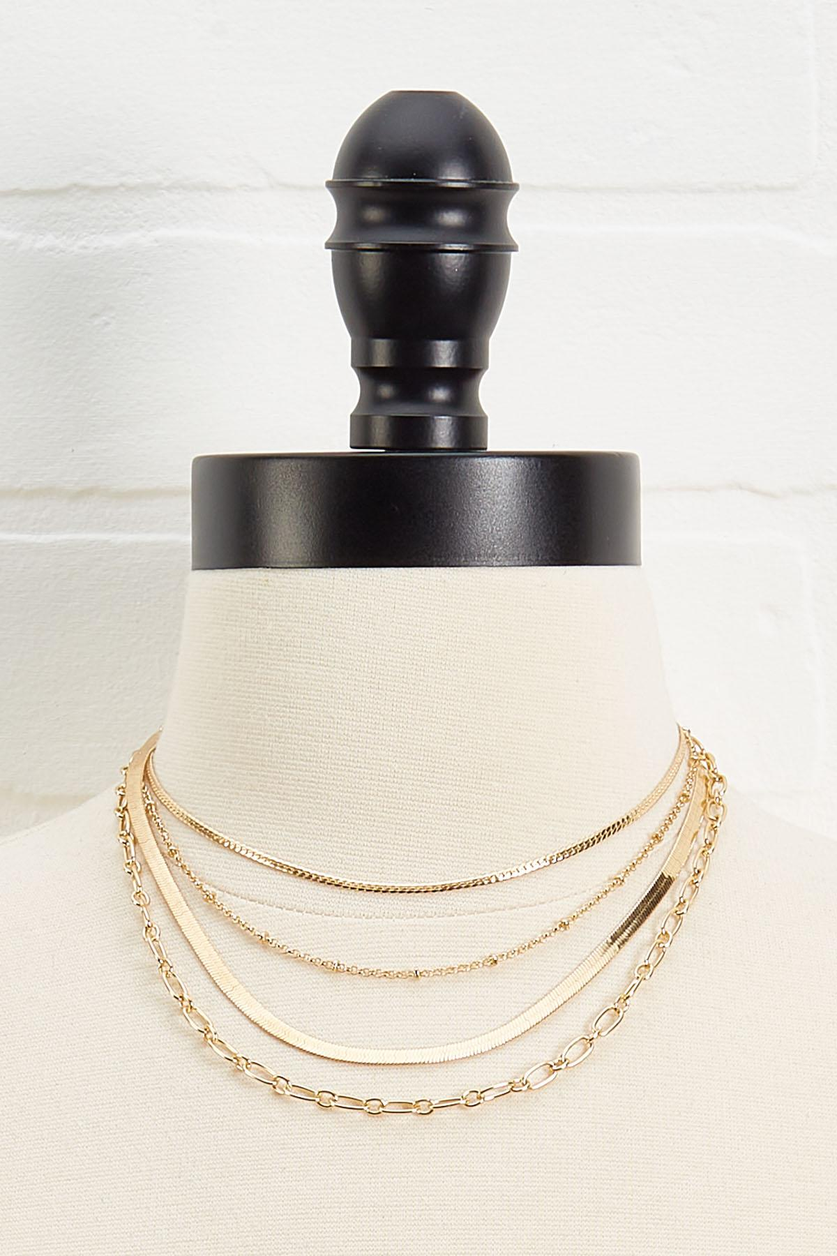 Chain Layered Necklace