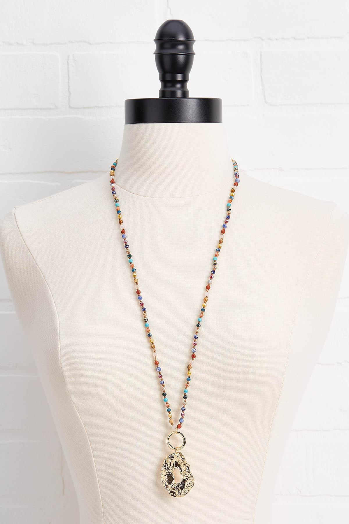 Precious Pendant Necklace