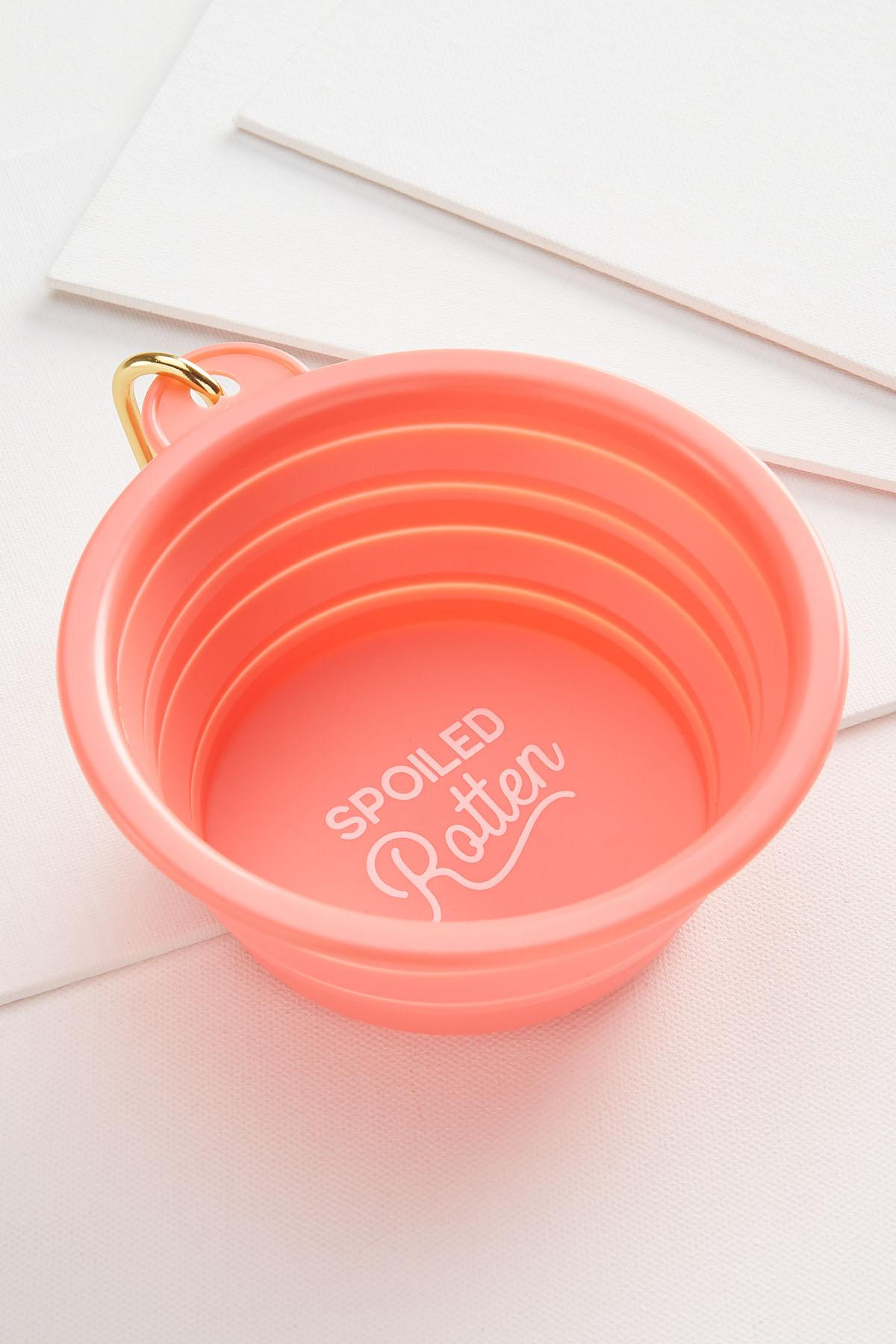 Spoiled Rotten Collapsible Pet Bowl