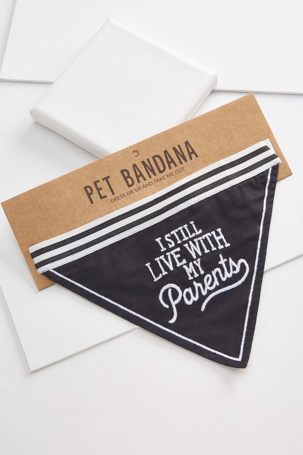 Still Live With My Parents Pet Bandana