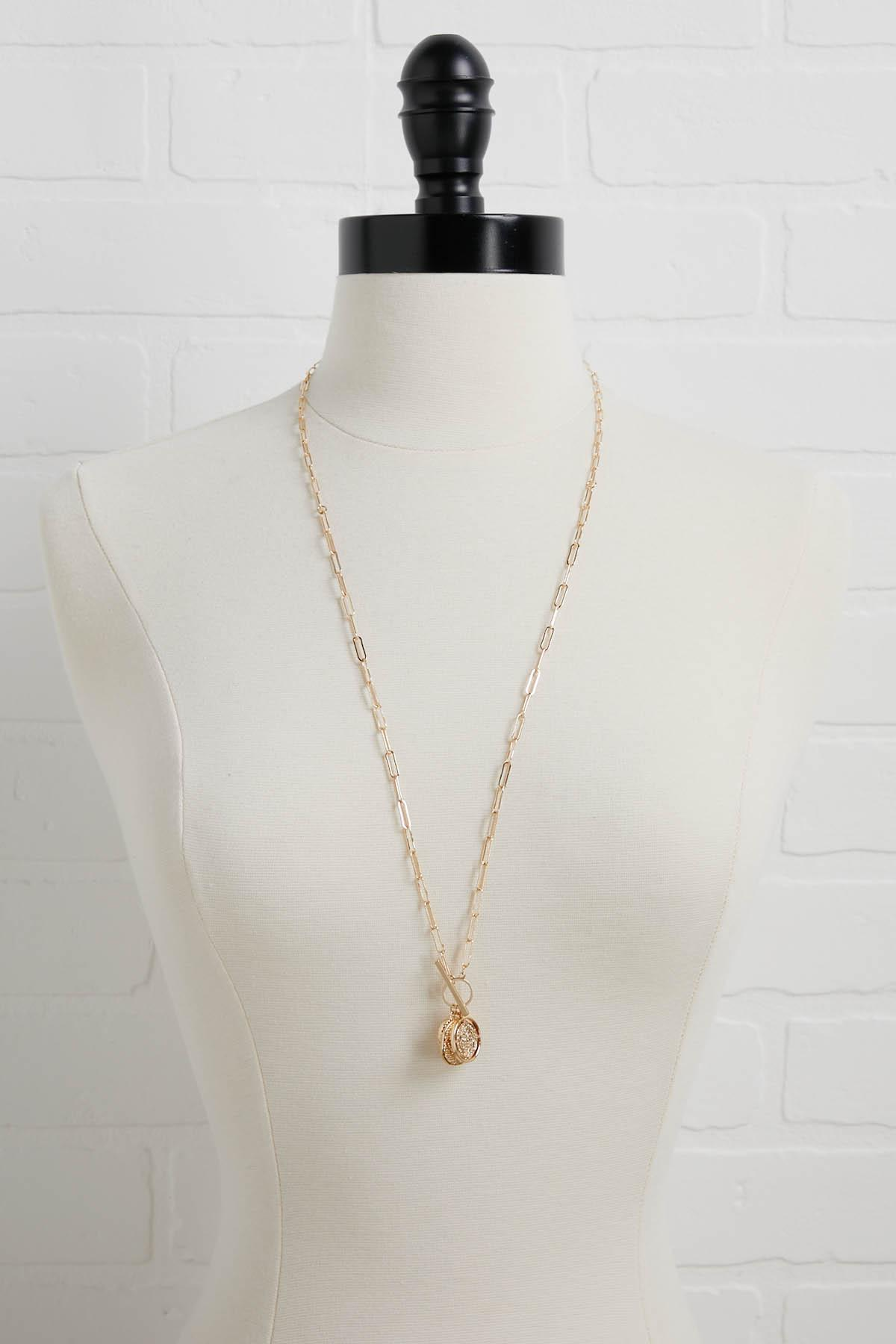 Cluster Coin Necklace