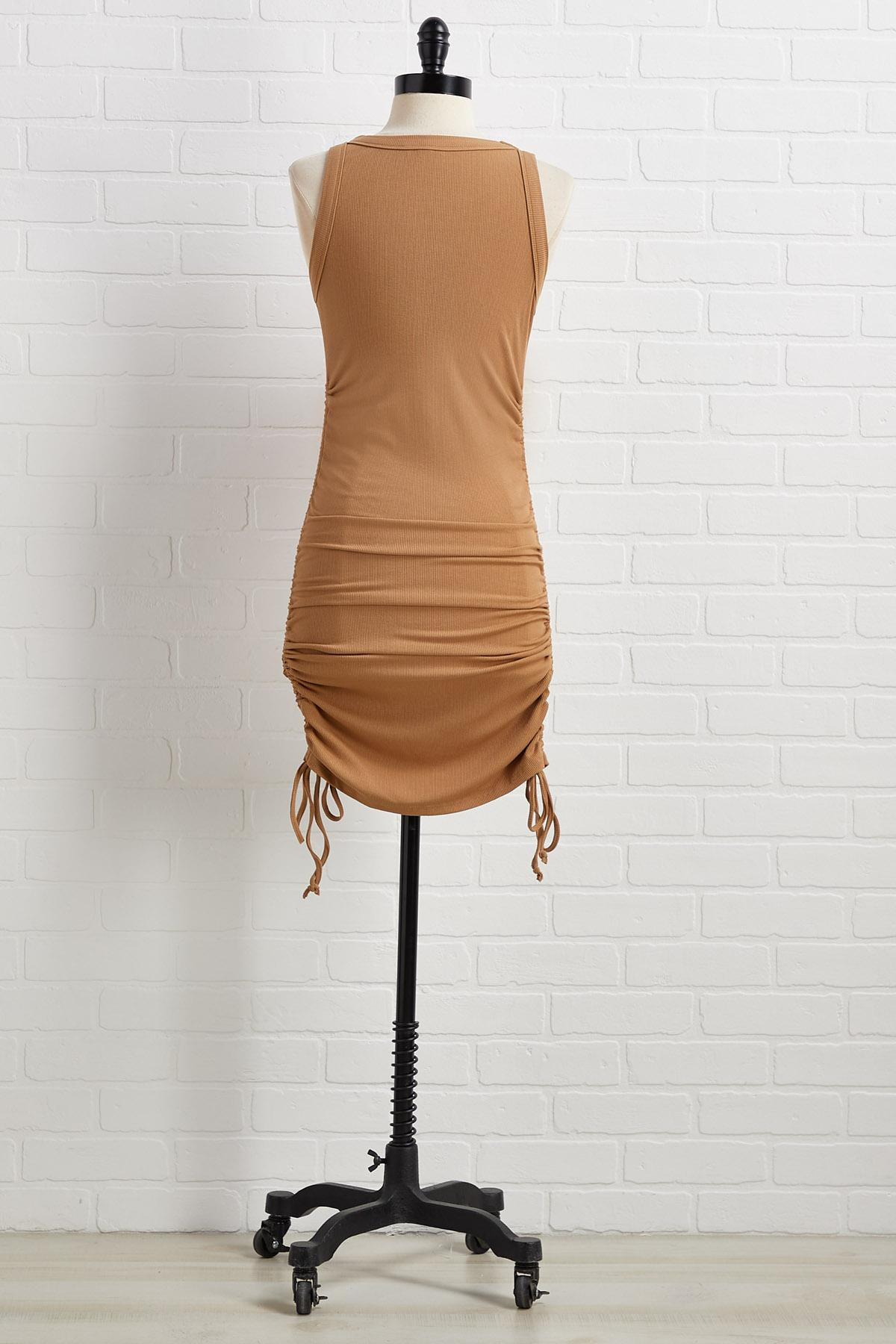 Don ` T Ruche Perfection Dress