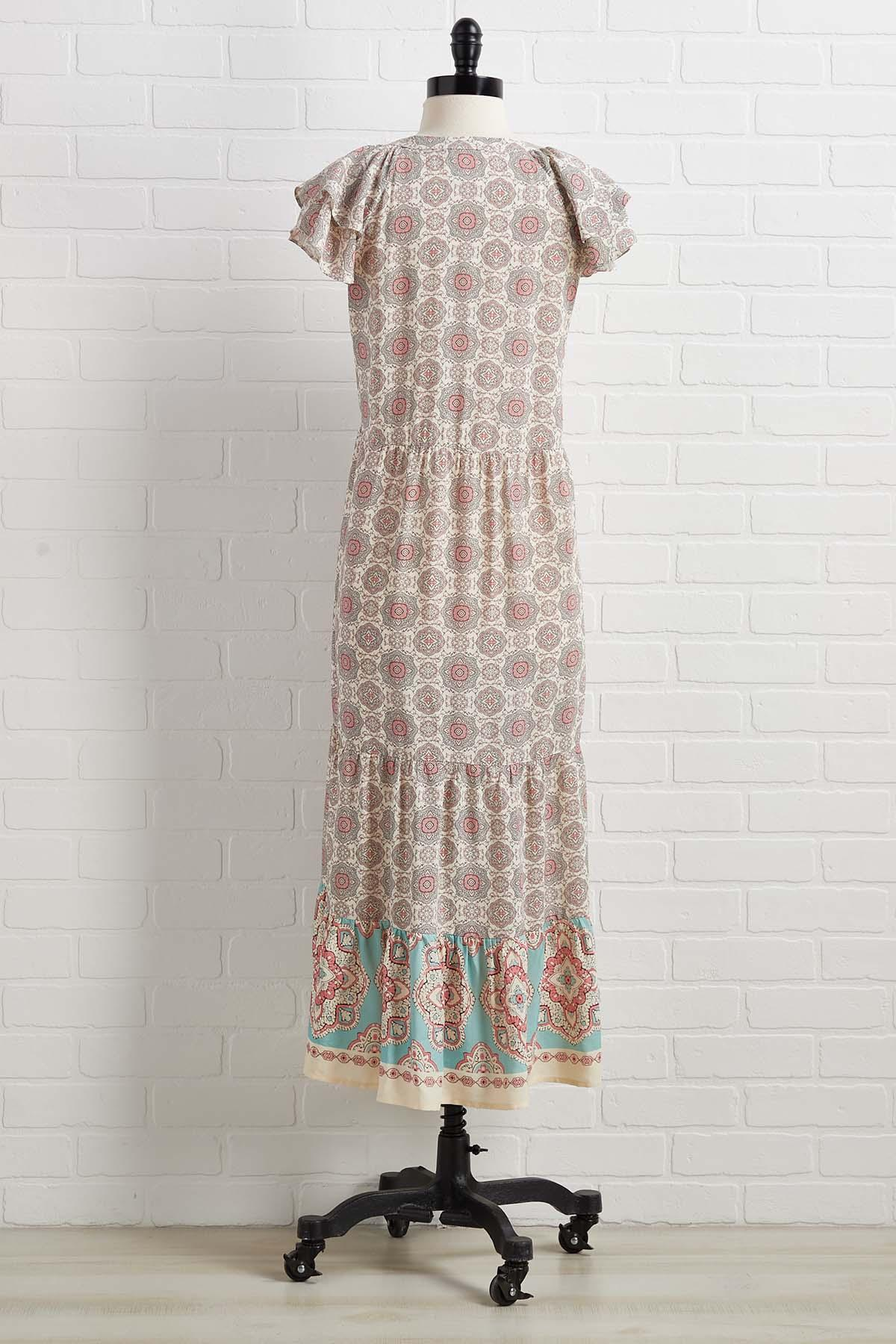 Sunsets In Spain Dress