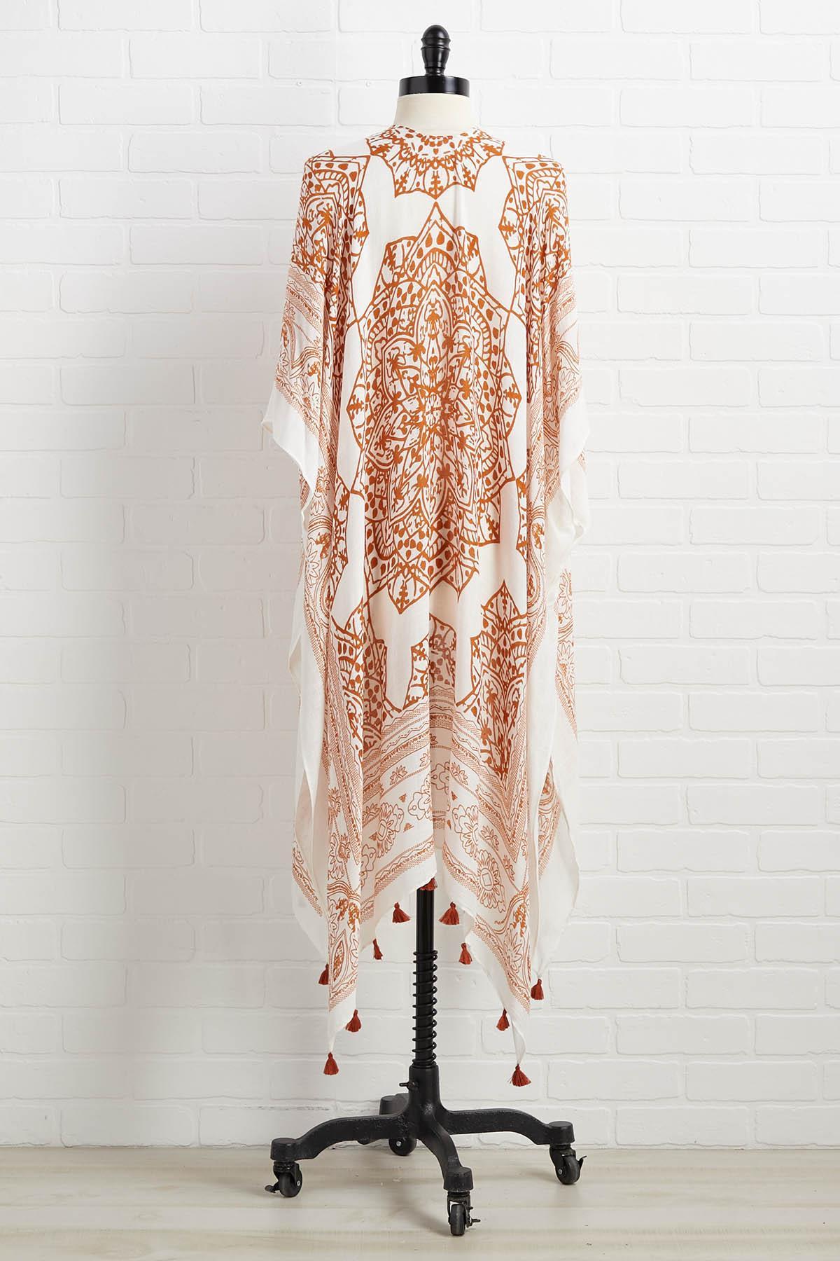 All Greek To Me Kimono