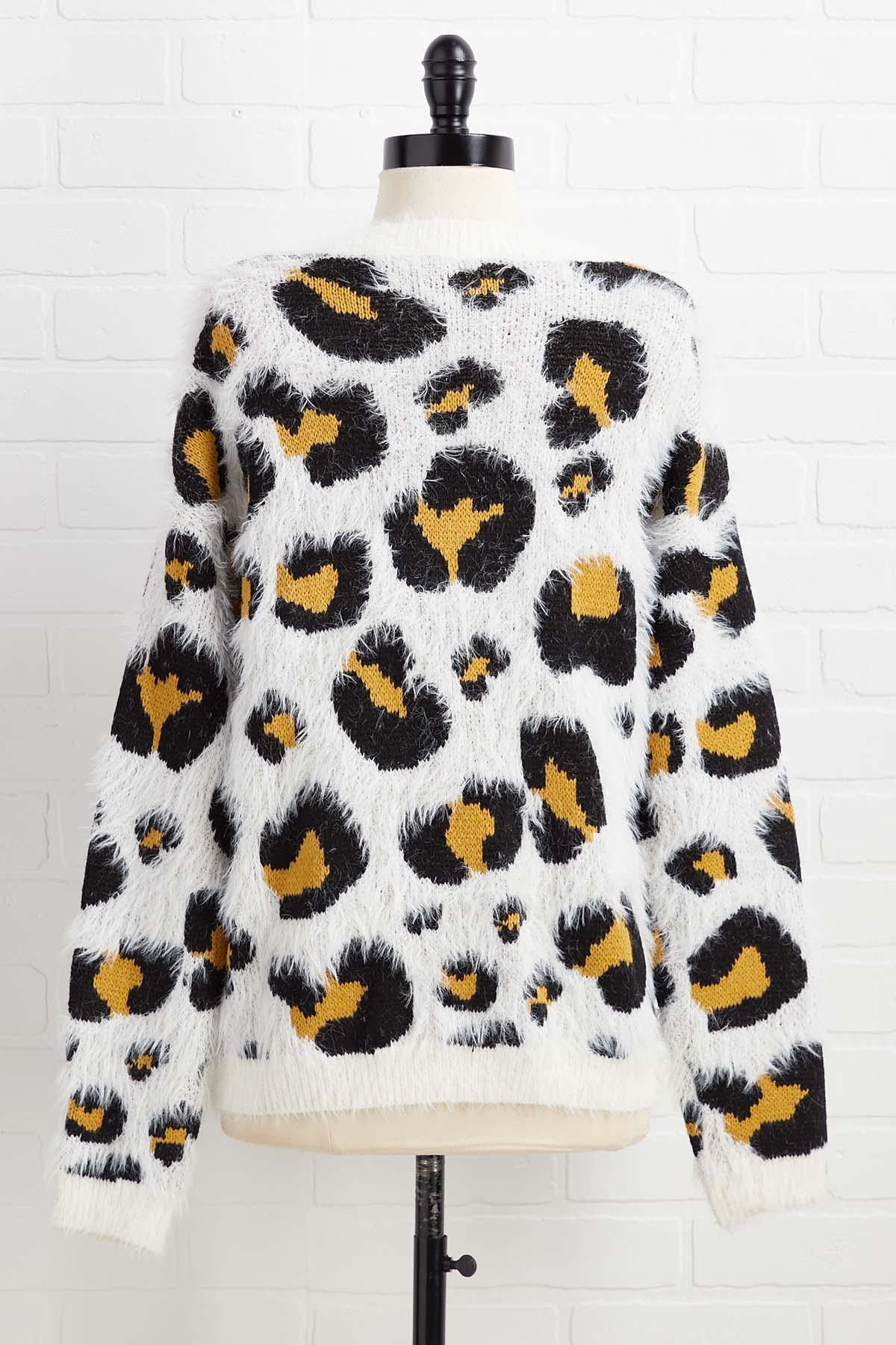 Safari Tour Sweater