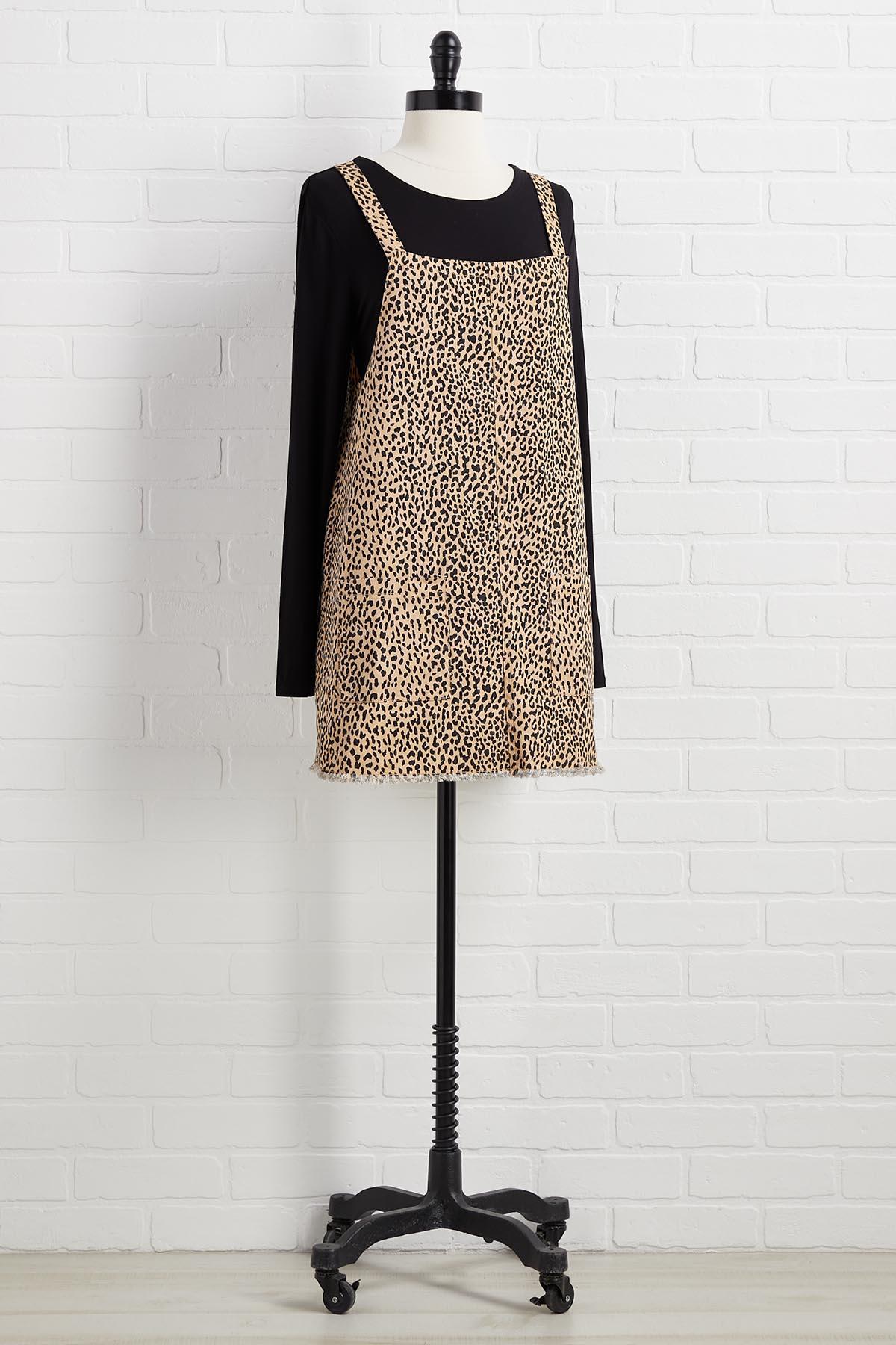 Fierce For Fall Jumper Dress
