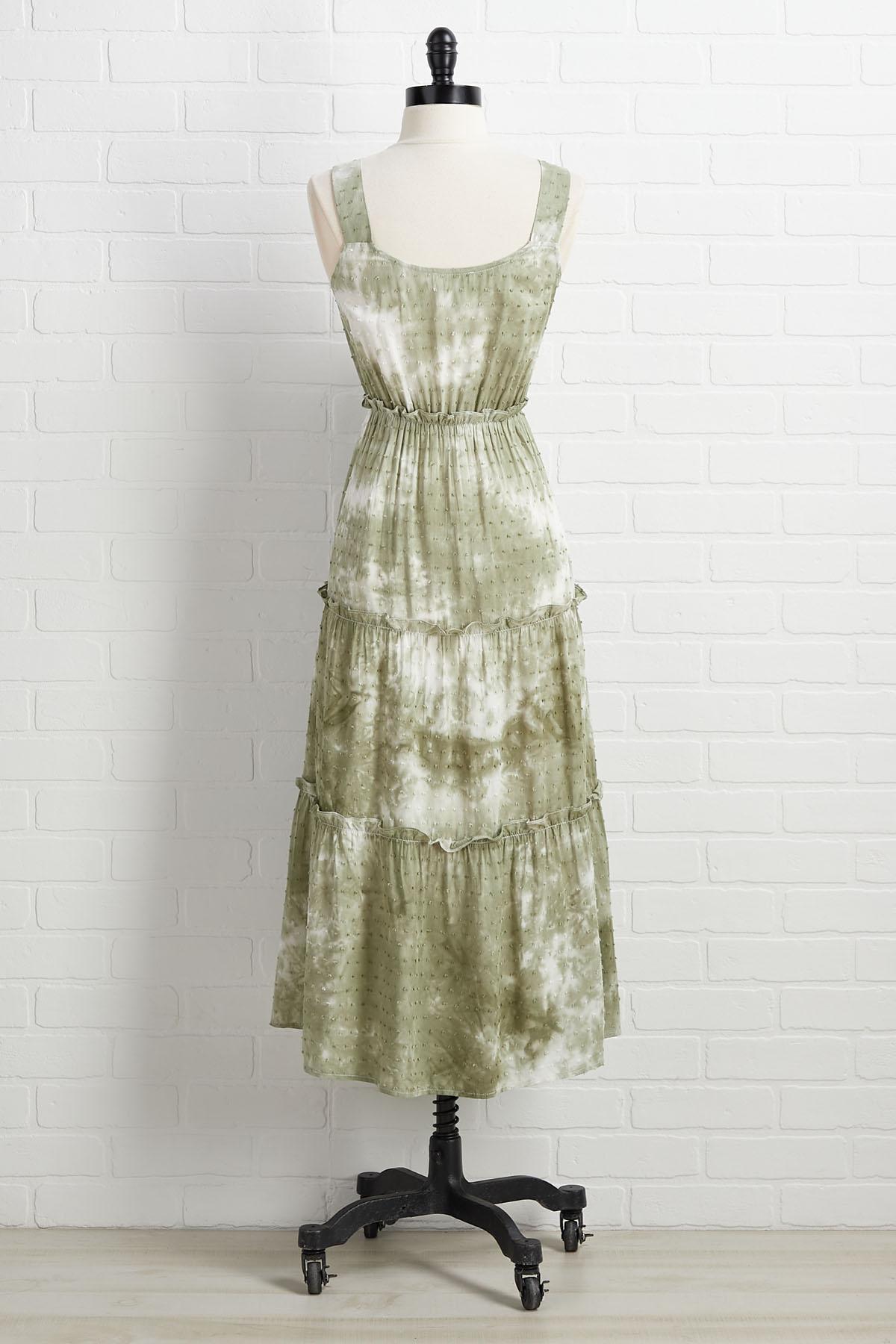 Going Green Dress