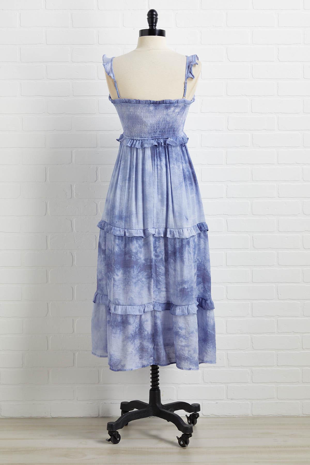 Blue Violets Dress