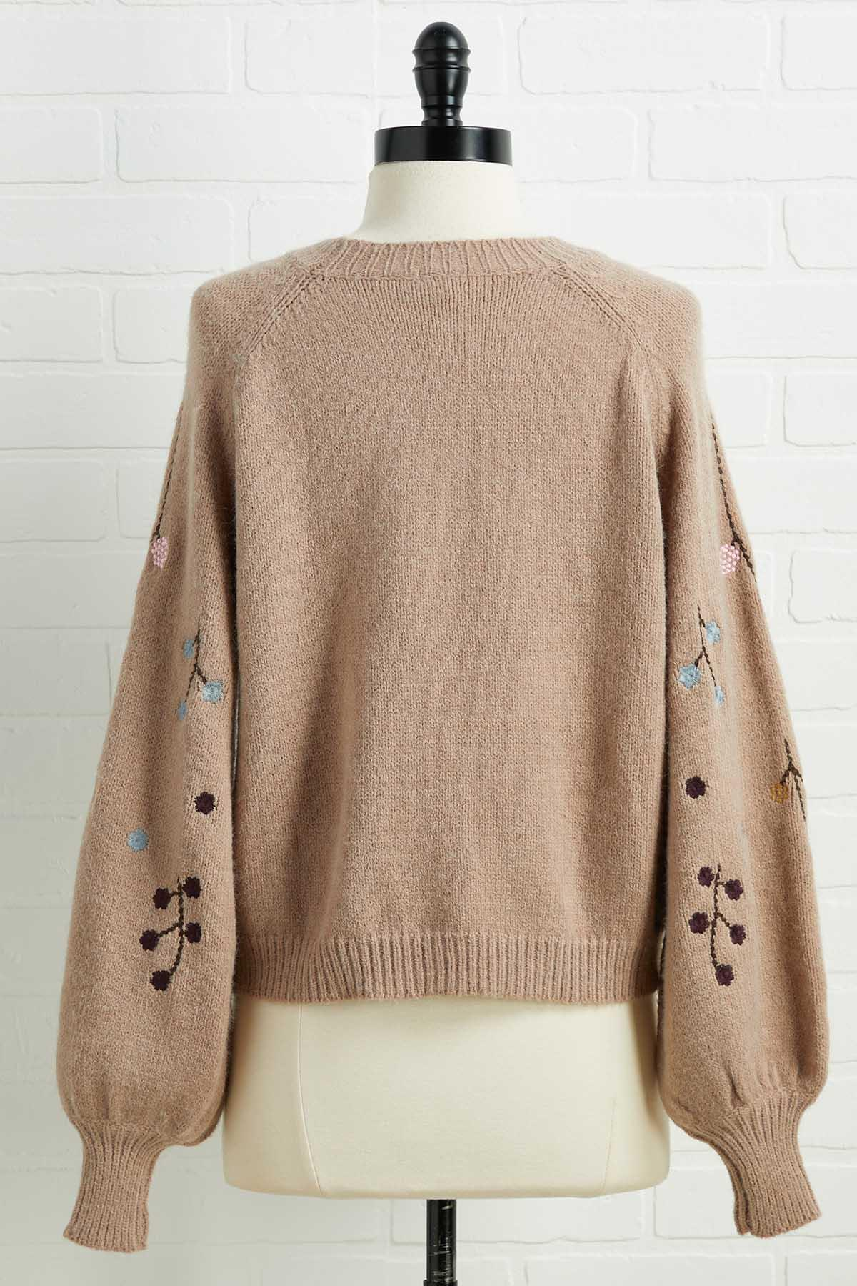 Blooming Bouquet Sweater