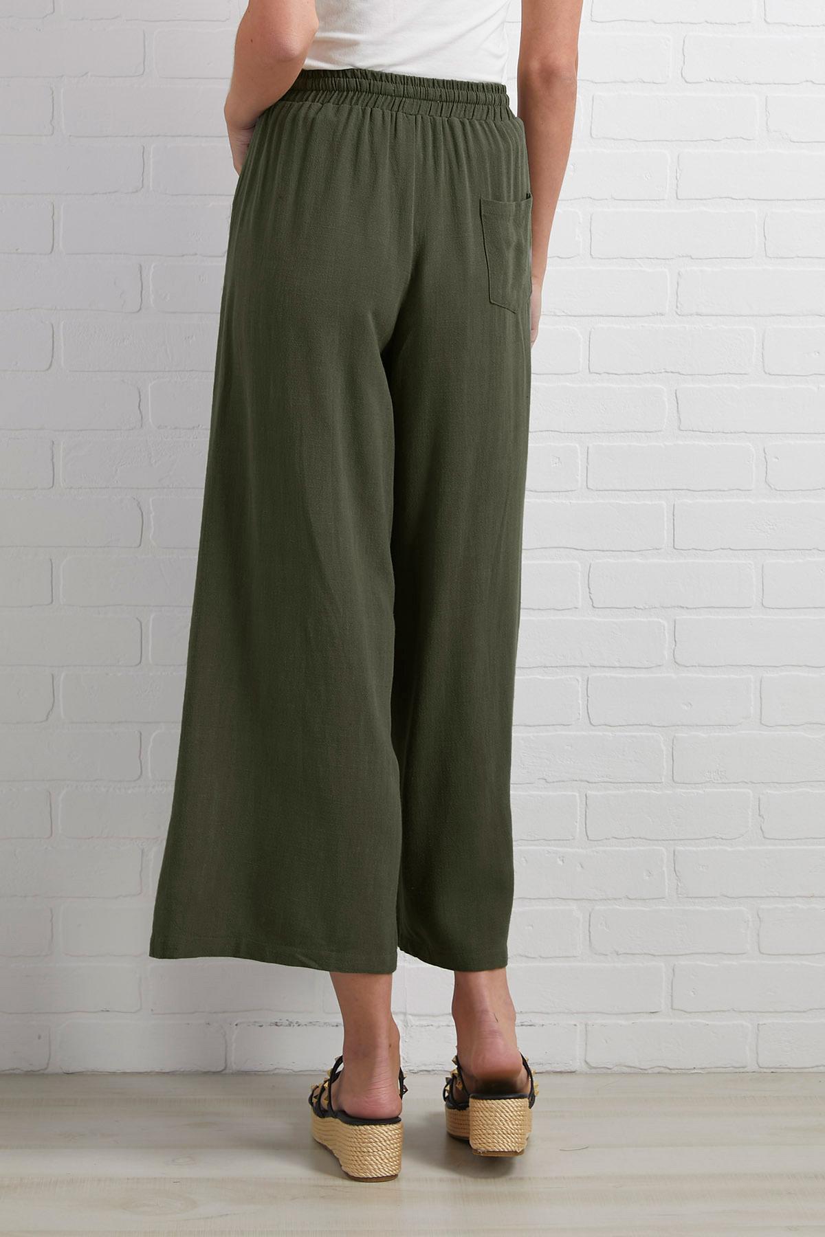 Liking Linen Pants
