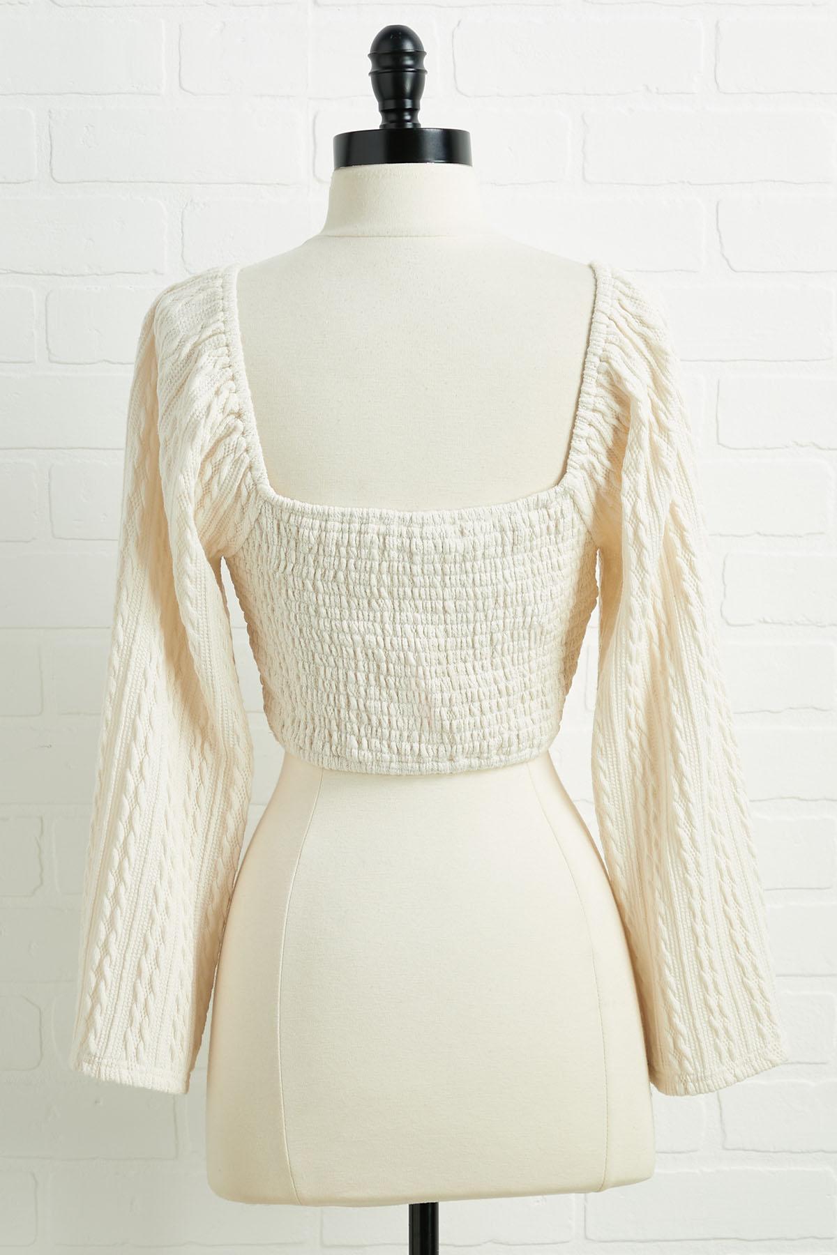 Iced Vanilla Latte Sweater