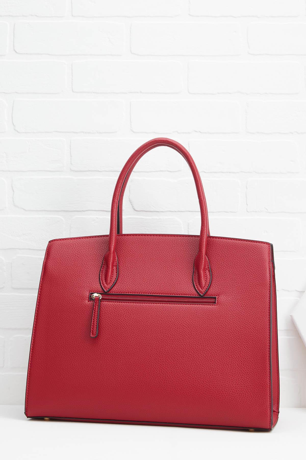 Lip Locked Satchel Bag