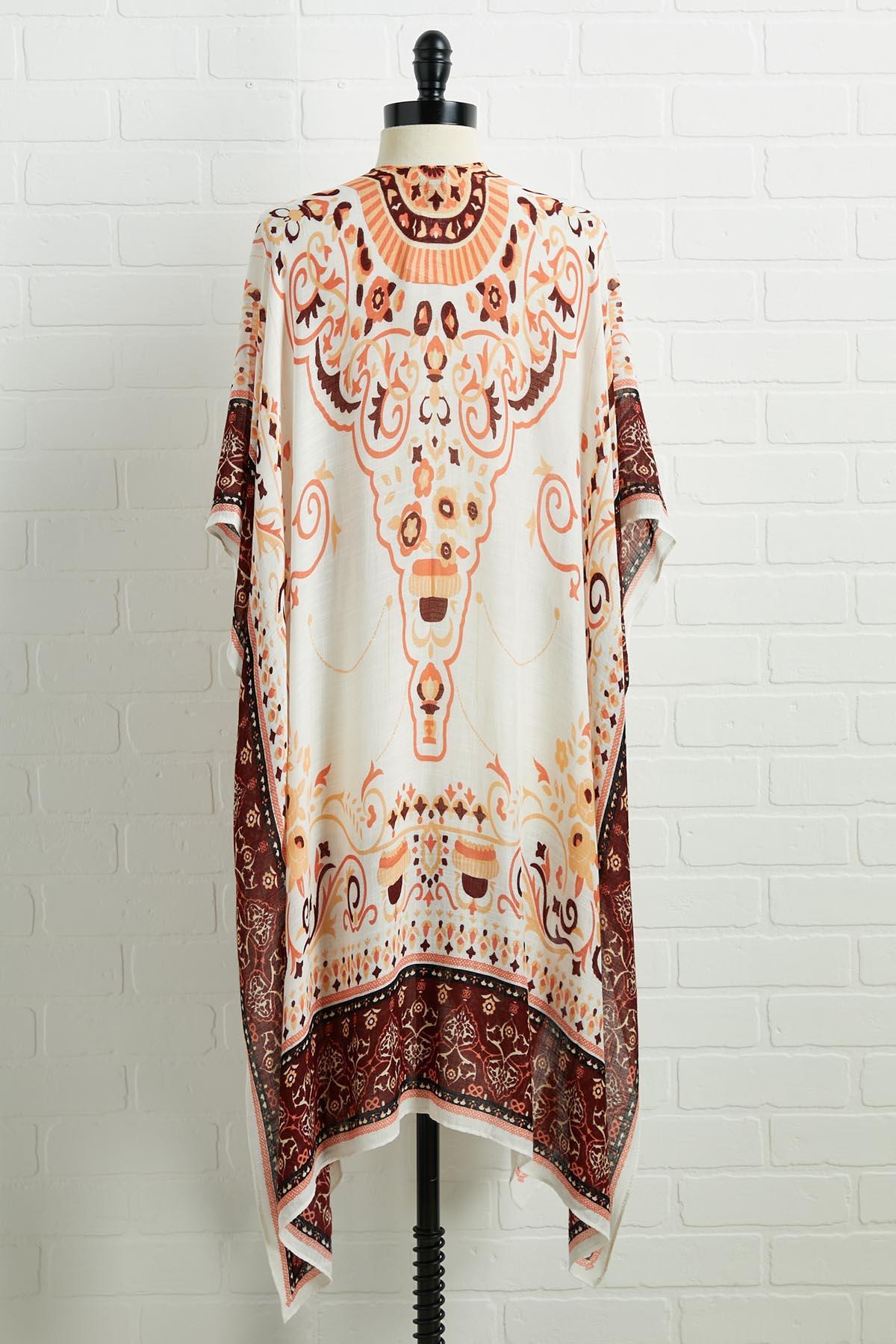 Summer Flame Kimono