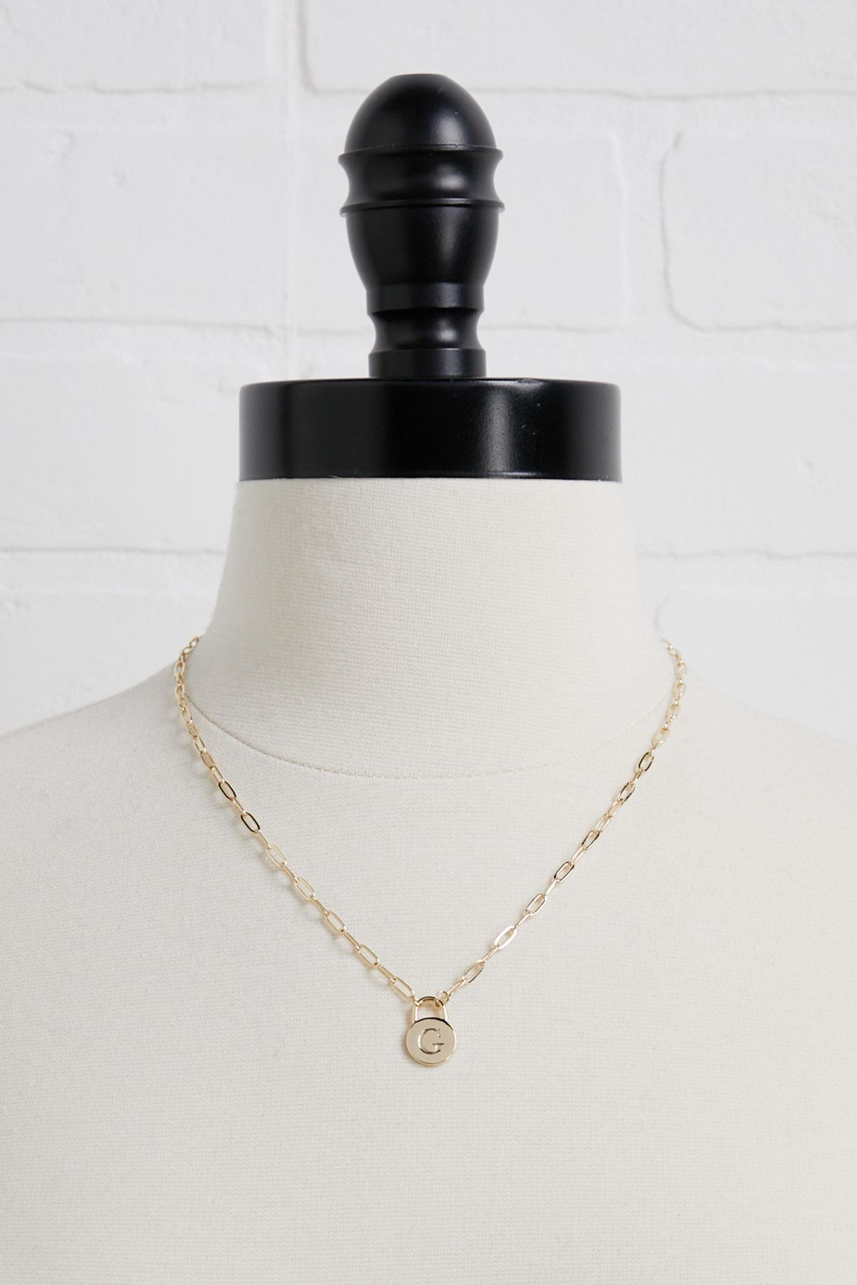 18k G Pendant Necklace