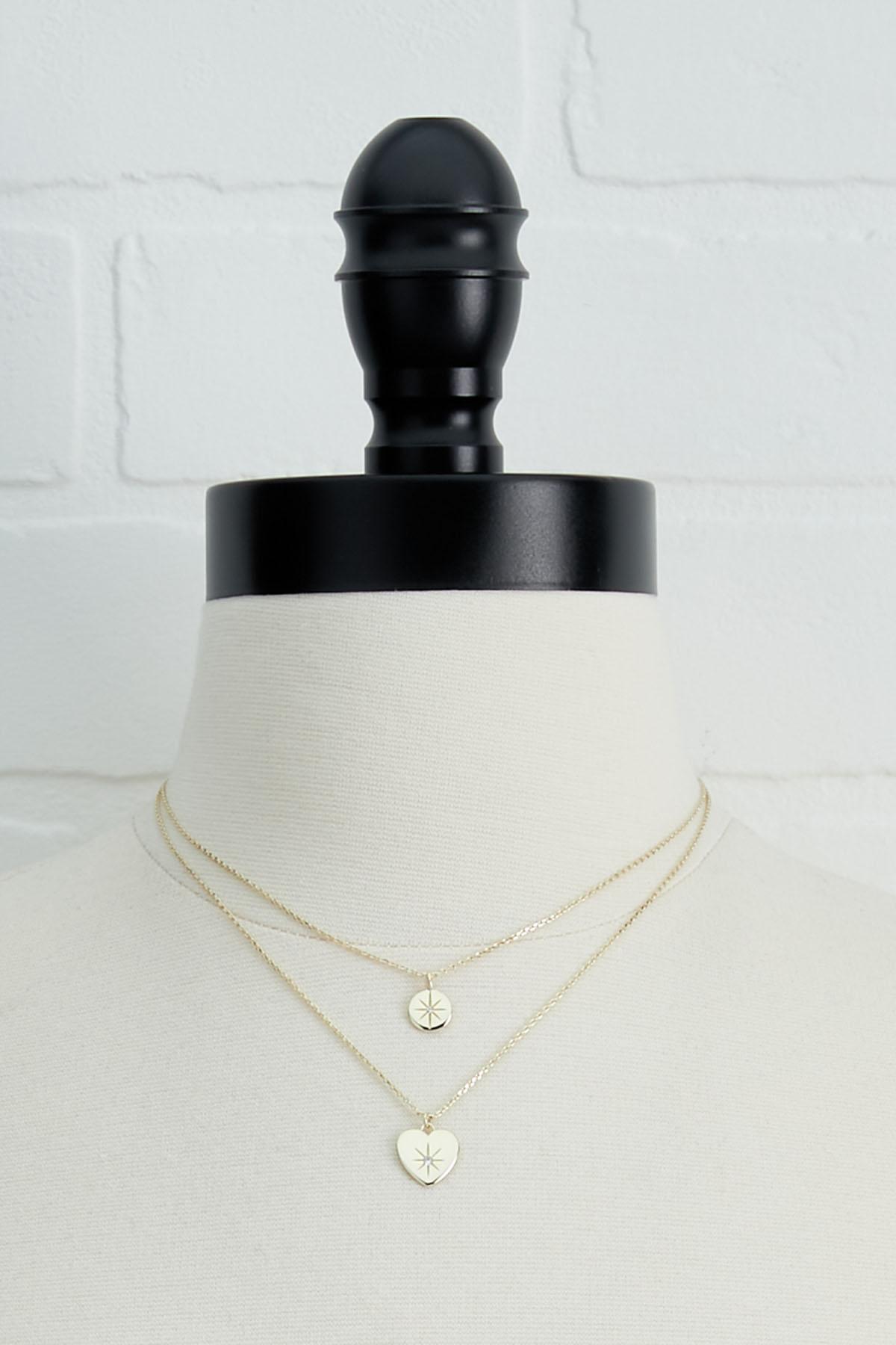 18k Heart Necklace