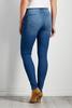 Medium Wash Destruction Skinny Jeans
