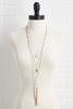 Pearl And Tassel Necklace Set