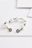 Pave Pearl Link Bracelet