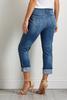 Destructed Girlfriend Jeans