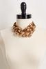 Faux Suede Beaded Necklace