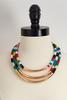 Layered Seed Bead Rope Necklace