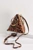 Leopard Fortune Cookie Clutch