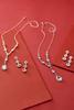 Rhinestone Dangle Earrings