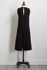Cropped Black Jumpsuit