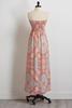 Strapless Smocked Maxi Dress