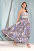 Multi Patchwork Maxi Dress