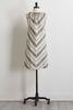 Mitered Stripe Dress