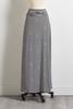 Contrast Stripe Maxi Skirt