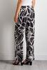 Black And White Floral Pants