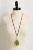 Semi- Precious Pendant Necklace