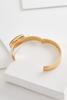 Semi- Precious Hinge Bracelet