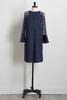 Hacci Lace Sleeve Shift Dress