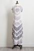 Gray Tie Dye Maxi Dress