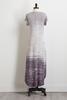 Gray Dip Dye Maxi Dress