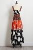 Mixed Floral Maxi Dress