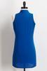 Blue Inverted Pleat Tunic